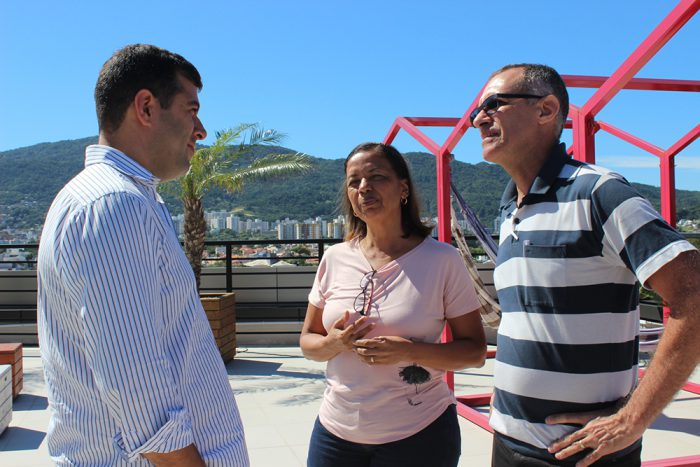 Síndicos visitam a sede da Kiper