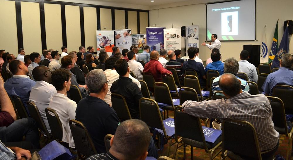 Simpósio Abese em Salvador apresentou a tecnologia de portaria remota Kiper