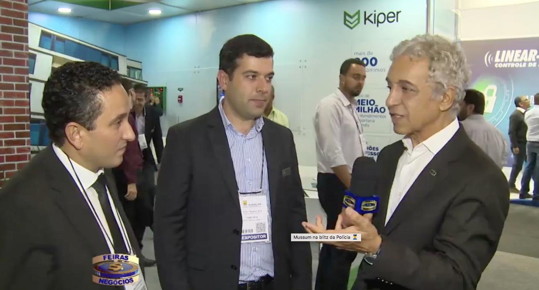 Canal Feiras & Negócios entrevista executivos Kiper