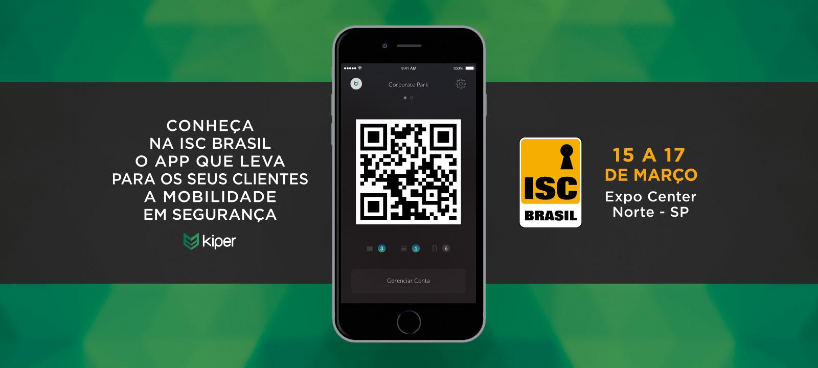Kiper lança aplicativo na ISC 2016