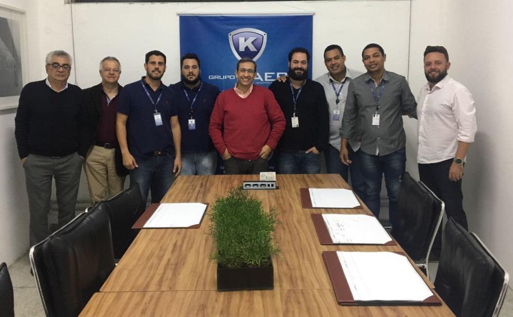 Grupo Kaer recebe treinamento sobre o sistema Kiper