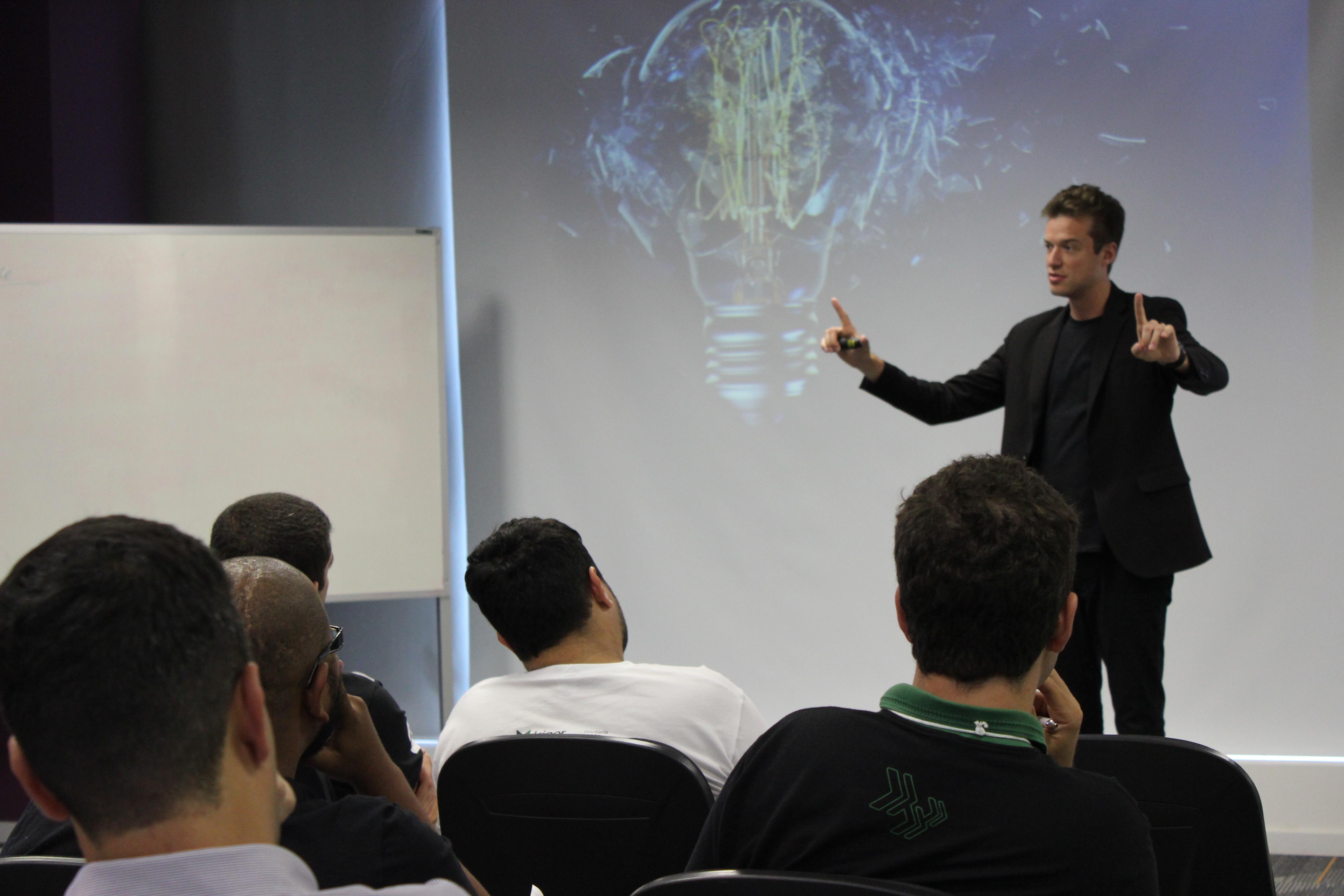 Inovação disruptiva em palestra na Kiper