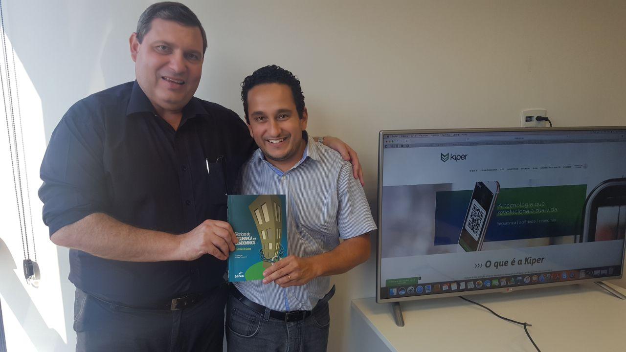 Kiper recebe em sua sede, o consultor em segurança condominial, José Elias de Godoy!