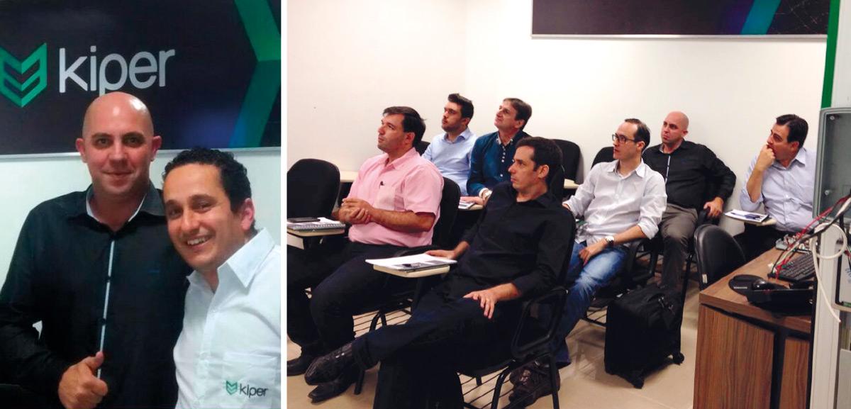 Profissionais de cinco estados participam de capacitação no Kiper, em Florianópolis