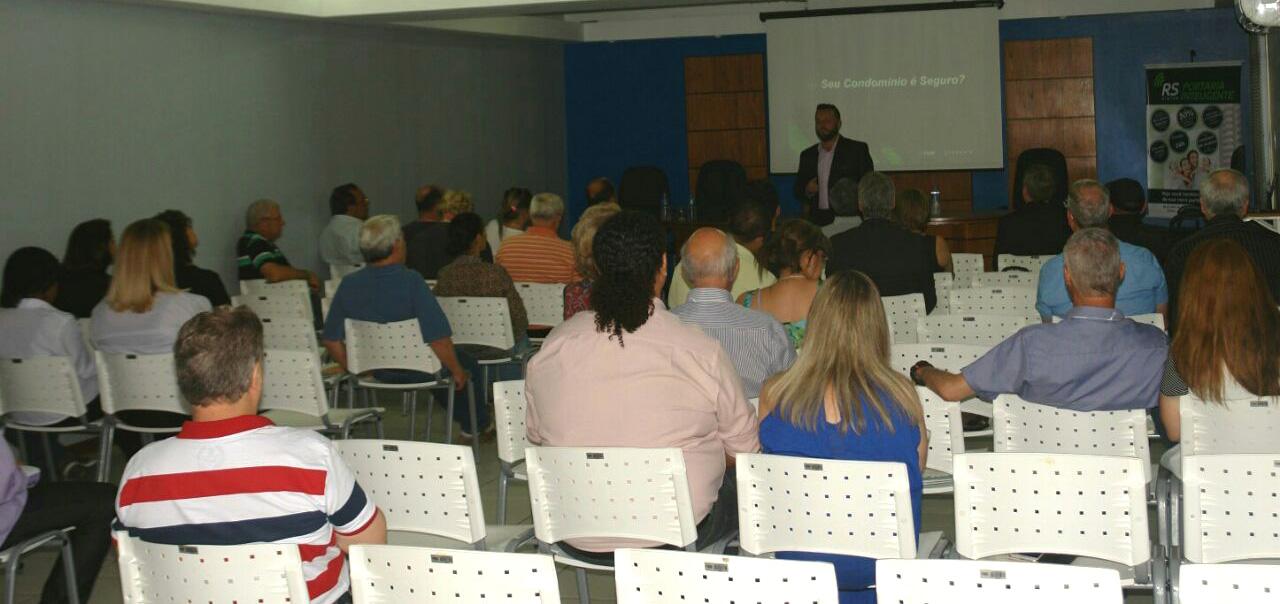 Kiper apresenta tecnologia do sistema de portaria remota em evento na cidade de Pelotas