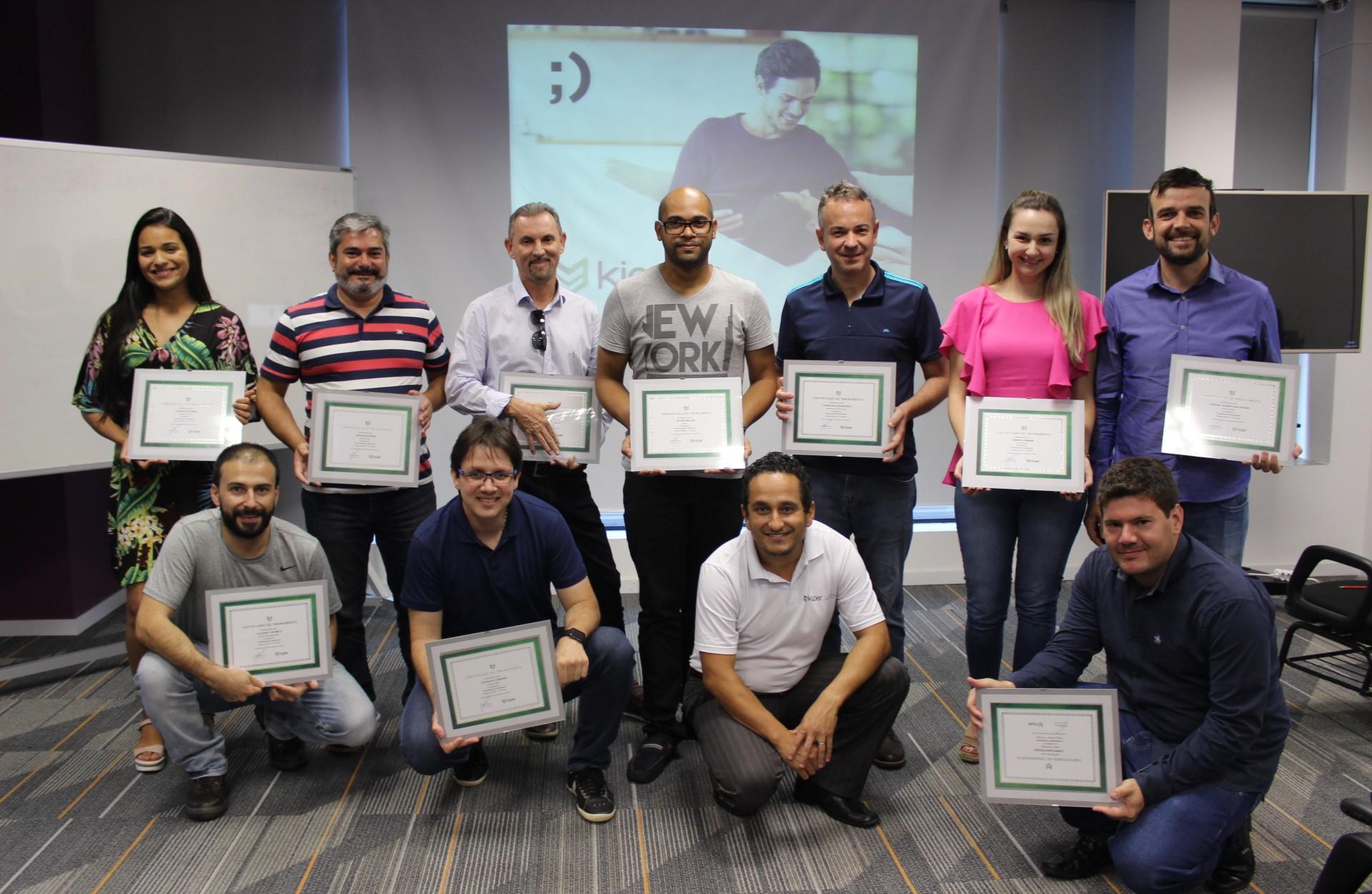 Profissionais de todo Brasil participam de mais uma capacitação na Kiper